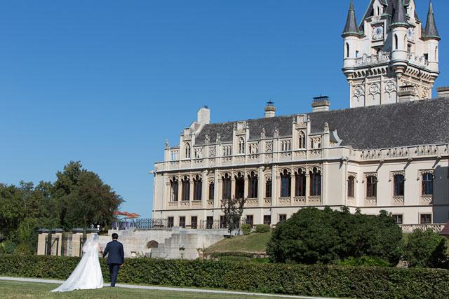 ウィーンのお城での結婚式