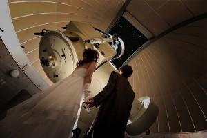 天文台で結婚式
