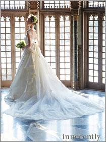 イノセントリー ウエディングドレス