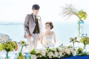 新舞子ガーデンホテルでフリープランナーと結婚式