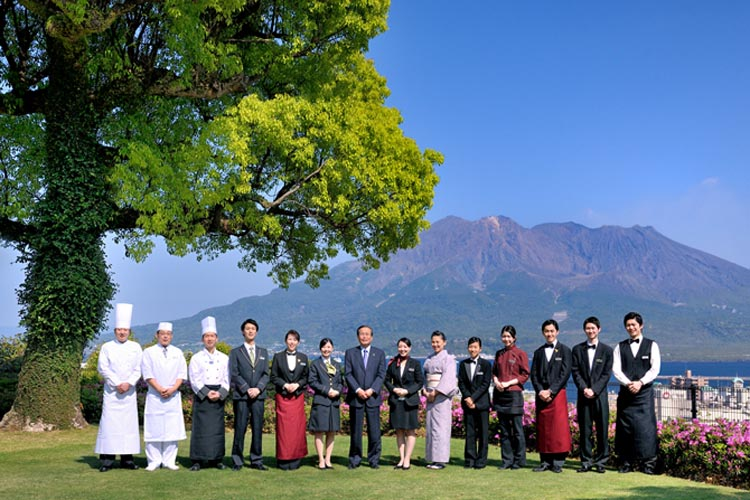 城山観光ホテル | 鹿児島の結婚式場