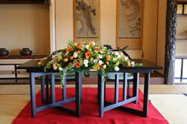 東洋館 披露宴装花