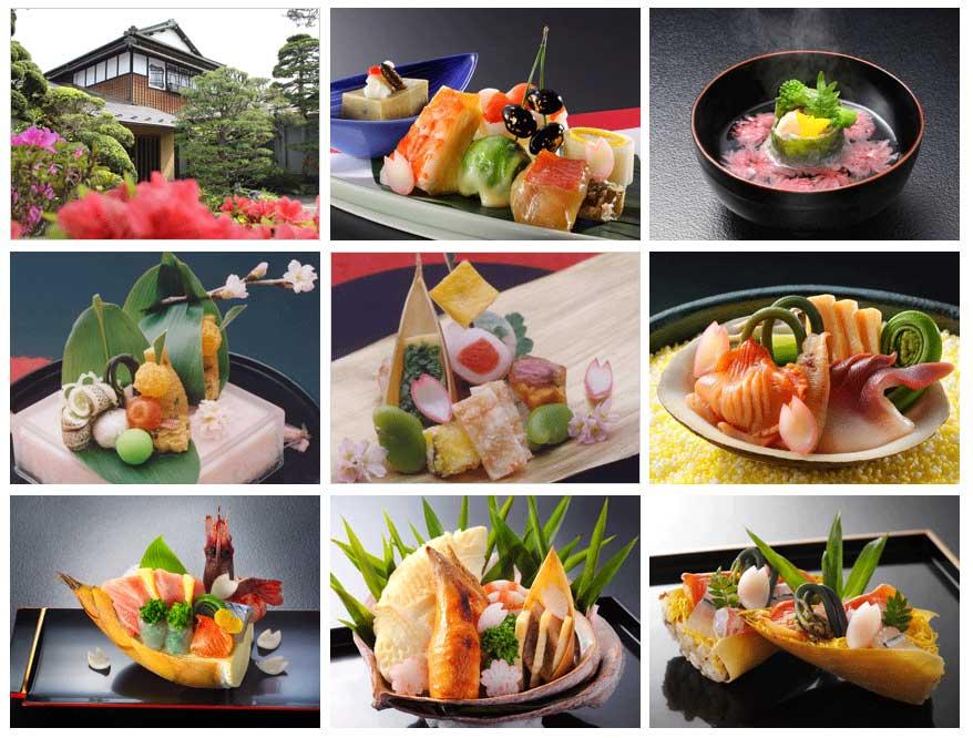 春の日本料理