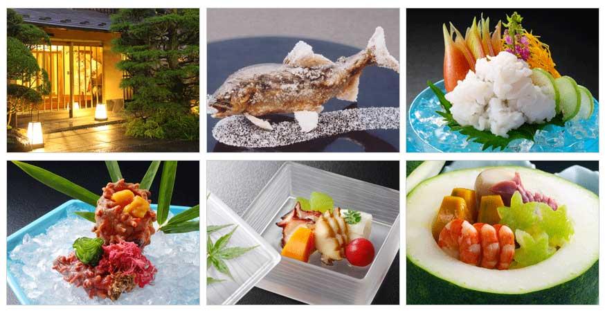 夏の日本料理