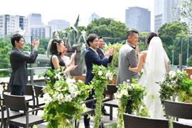 ノマドグリルラウンジ テラス 結婚式