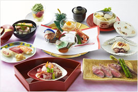 婚礼料理 日本料理